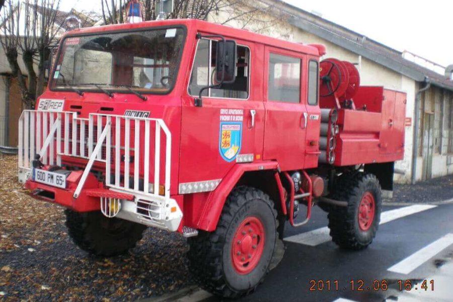 Camion Feu de Foret UNIC 75Pc