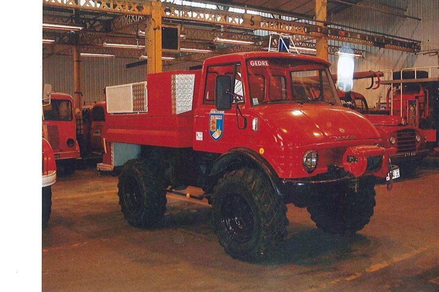 Camion Feu de Foret Unimog
