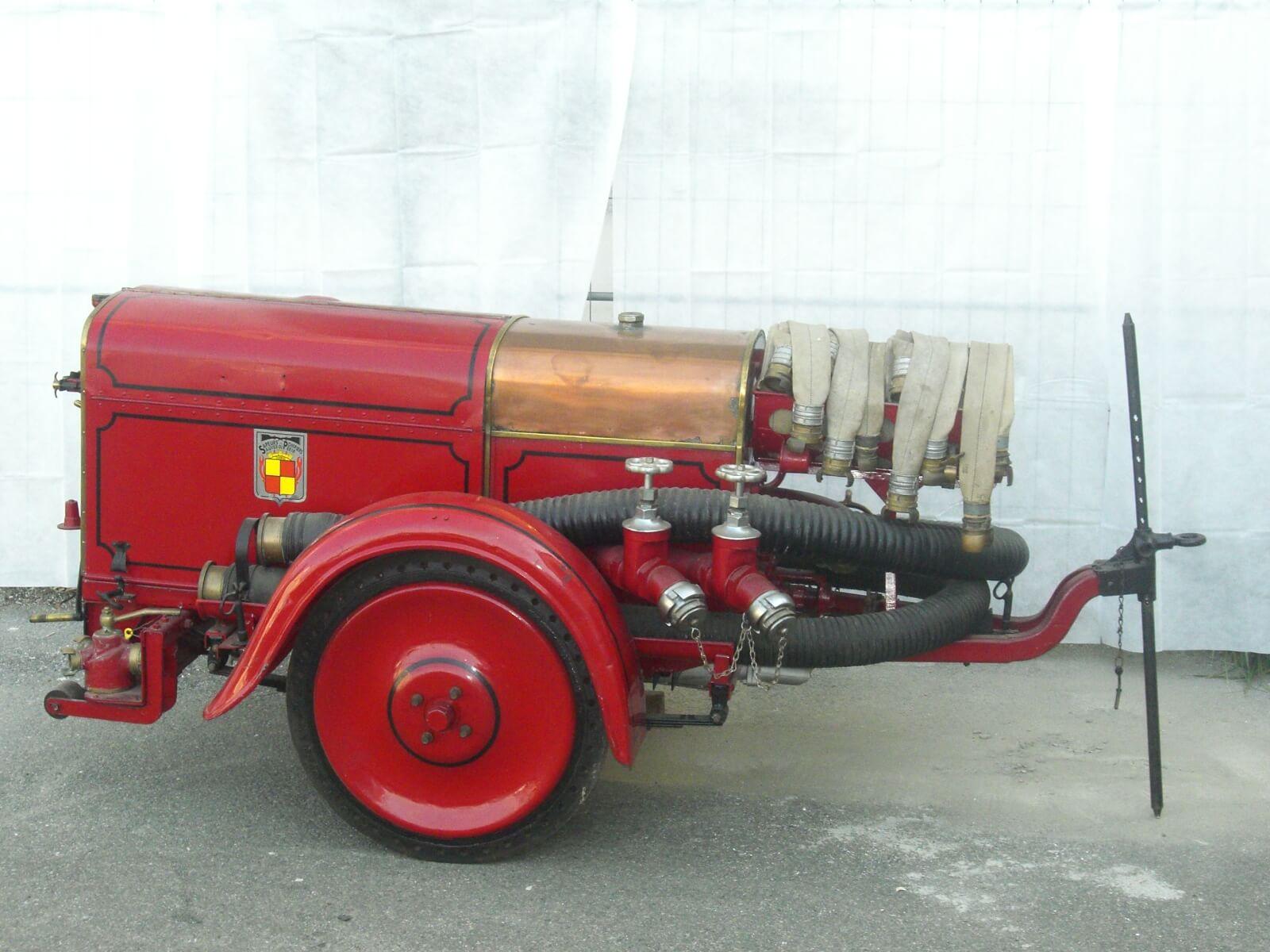Moto Pompe Remorquable  de 1930